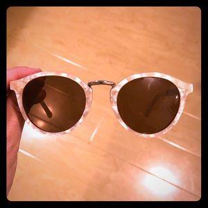 Madewell Indio Sunglasses Ivory Tortoise